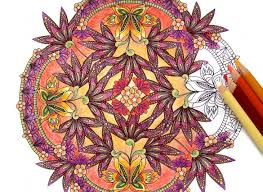 mandala coloring books adultskids coloring pages