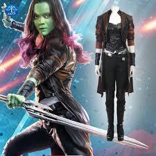 gamora costume aliexpress buy manluyunxiao guardians of the galaxy 2