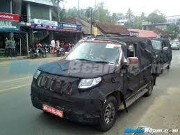 roll royce kerala mahindra u301 snapped in kerala spied