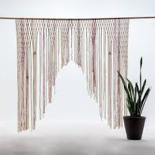 wedding backdrop measurements handmade macrame ceremony altar or arbor hanging cake table decor