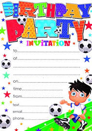 party invitation party invitations with envelopes pack of 20 co uk toys