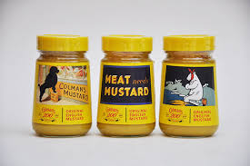 colman mustard colmans mustard is made still from norwich for 200 years
