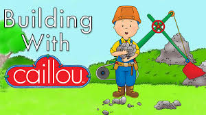 building with caillou caillou sprout