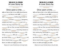 wedding mad libs template this would be for the guests to do at cocktail hour and then