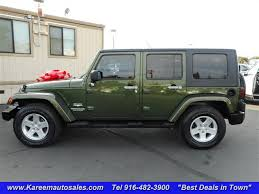 2007 green jeep wrangler green jeep in california for sale used cars on buysellsearch