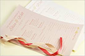 wedding program card stock wedding ceremony programs stationery to design print make your own
