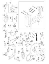 2008 ktm 450 sx f special tools parts best oem special tools