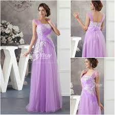 lilac dresses for weddings length appliques a line tulle lilac wedding dress with straps