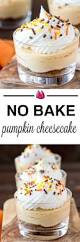 Gingersnap Pumpkin Cheesecake by No Bake Pumpkin Cheesecake Cooking On The Front Burner