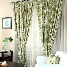 Curtain Patio Door White Dreamy Cactus Patio Door Curtains