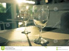 luxury wine glass with perfect sunlight stock photo image 95230814