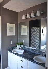 bathroom frameless mirrors dark grey wall color with simple frameless mirror for cool