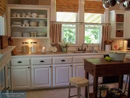 kitchen elegant rectangle country kitchen curtain with u shape