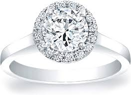 engagement rings solitaire images Pave diamond halo solitaire engagement ring scs1292c png
