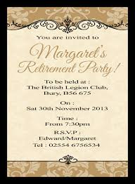 retirement invitations retirement invitations d l designs ltd