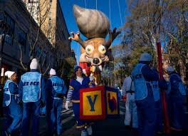 macy s thanksgiving parade revels on amid tight security the