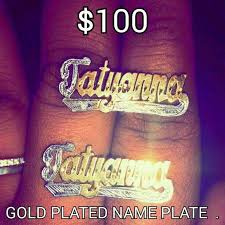 name plates jewelry 47 jewelry personalized name plate earrings from tatyanna s