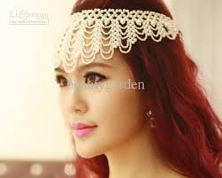 pearl headpiece wedding jewelry wedding bridal jewelry faux