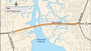 Intracoastal Waterway Map Bicycle Lanes Sidewalks Coming Soon To Intracoastal Waterway