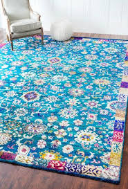 Peacock Blue Area Rug 40 Best Bright Nuloom Rugs Images On Pinterest Carpets Area