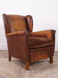 brown leather arm chair u2013 drew pritchard ltd library record room