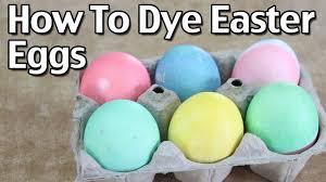 how to dye easter eggs homemade easter egg dye youtube