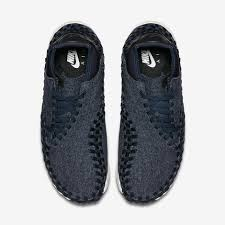 obsidian black color nike air footscape woven chukka wool 857874 400 sneakernews com