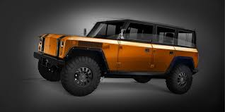 electric land rover bollinger four door electric suv is the electric defender land