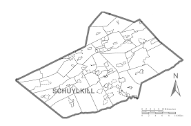 Map Of Pennsylvania Counties by File Map Of Schuylkill County Pennsylvania No Text Png