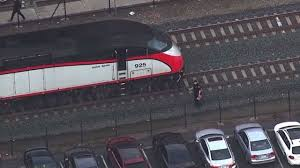 one person dead after being struck by caltrain in redwood city