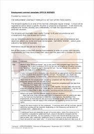 templates for employment contracts eliolera com