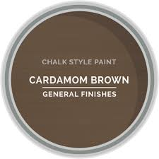 brown paint chalk style paint general finishes