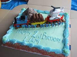 this is a thomas the tank engine cake that i made for a friend u0027s