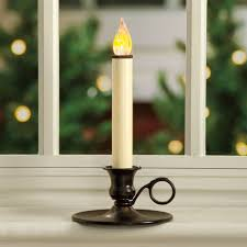 other limelight window candles living 2pack 9in