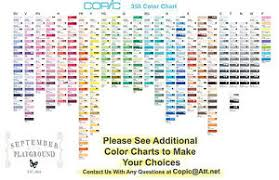 how many copic sketch marker colors are there saphos info