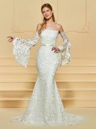 mermaid style wedding dress trumpet mermaid wedding dresses cheap mermaid style bridal