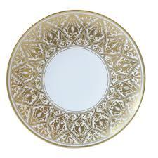 assiette de porcelaine à diner 27 cm en porcelaine de la collection venise bernardaud