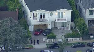 father stabbed son hurt in santa monica home invasion robbery