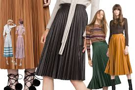 pleated skirts our favorite fall winter 2015 pleated skirts to shop now the