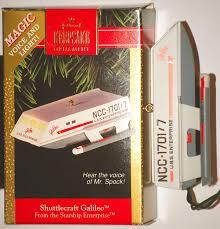 shuttlecraft galileo 1992 hallmark keepsake ornament