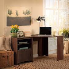 Corner Desk Cherry by Amazon Com Buena Vista 60w Corner Desk In Madison Cherry Kitchen