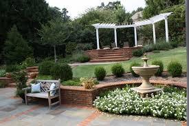 Backyard Terrace Ideas Backyard Terraces Traditional Landscape Other By Graham