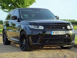 range rover sport 2015 used 2015 land rover range rover sport svr for sale in kent