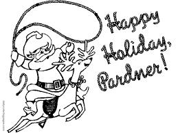 christmas coloring pages santa coloring home