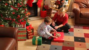 Mother Daughter Christmas Ornaments Mother And Daughter Hanging Ornaments Stock Footage Video 4762154