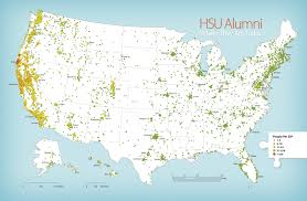 Atlanta On Map by Humboldt Magazine Hsu Alumni Who They Are Where They Are And