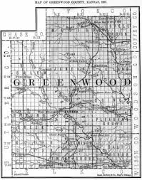 Kansas Counties Map Greenwood County Schools Bibliography Kansas Historical Society