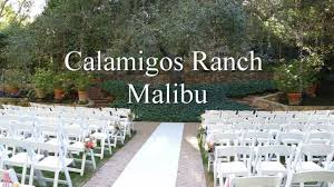 calamigos malibu pavilion ceremony youtube