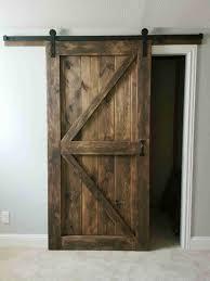 Barn Door Furniture Company Barn Door Sliding 2 Panel Z Style Walston Door Company