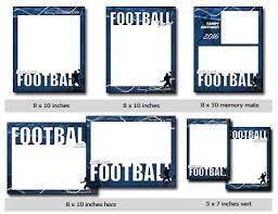 sports football vol 5 phototshop and elements templates
